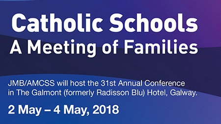 JMB/AMCSS 31st Annual Conference 2nd - 4th May 2018