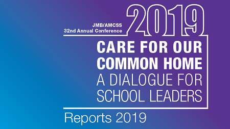 Reports 2019: JMB/AMCSS 32nd Annual Conference
