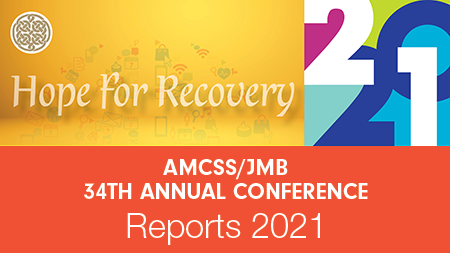 Reports 2021: AMCSS/JMB 34th Annual Conference